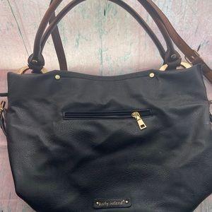Black over the shoulder purse